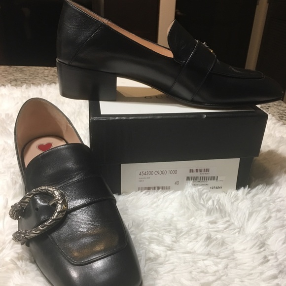 d0aa6944a1f Gucci Dionysus Leather Loafer
